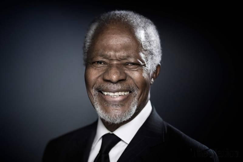Kofi Annan| Fare Thee Well
