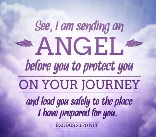 God sends angels