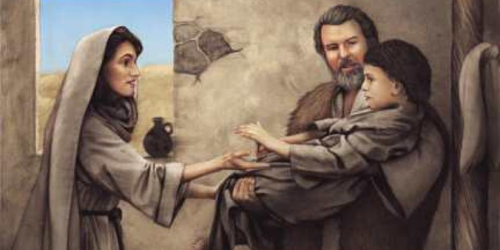Elisha and Shunnamite Woman