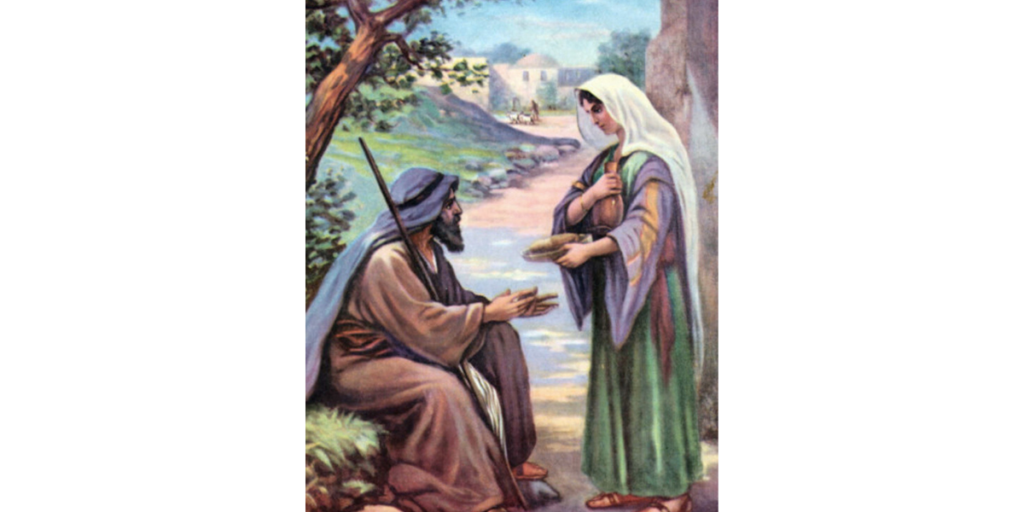 Elijah and the widow at Zarephath