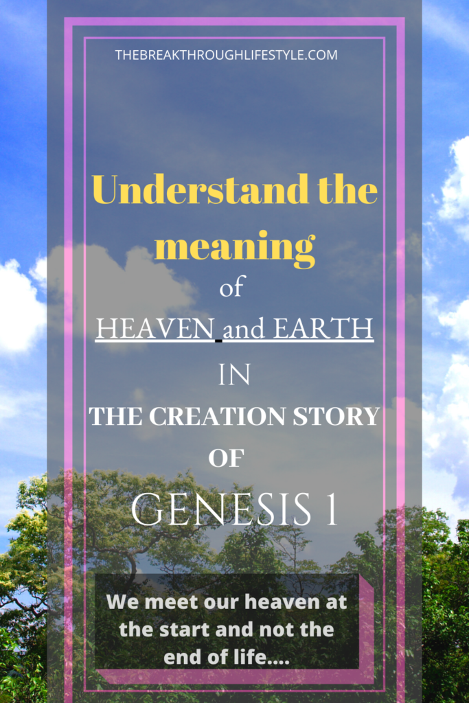 Creation Story of Genesis 1